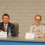 Конференция в пресс-центре «Сегодня Мультимедиа»