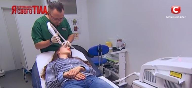 Лазерная коррекция татуажа - Врач Клиники Литус Гармаш Сергей на телеканале СТБ
