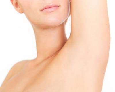 Лазерная эпиляция волос подмышки
